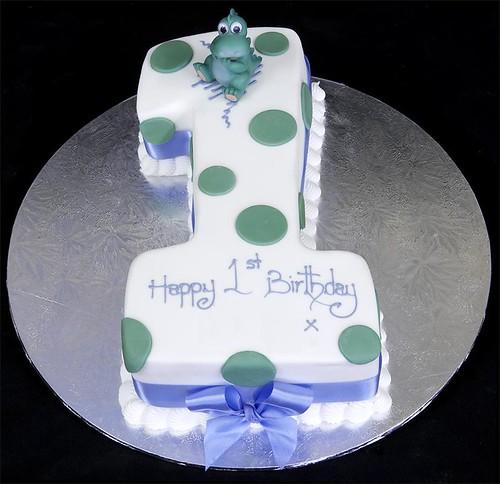 2617 Figure One Birthday Cake