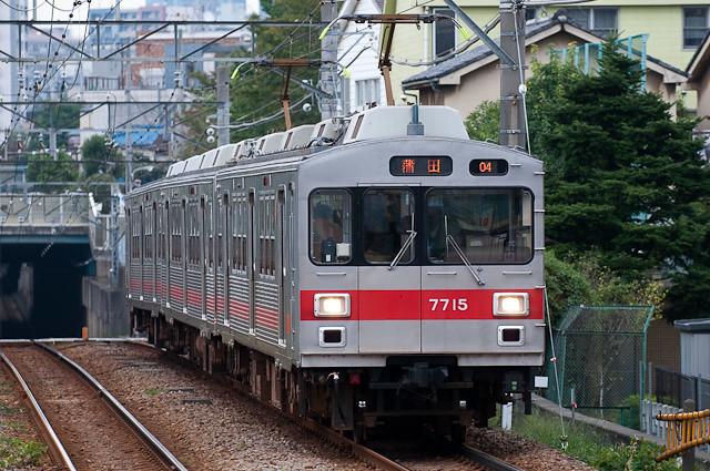 東急電鉄 池上・多摩川線 7700系 7915F