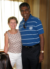 B and Vijay Amritraj (Lynn Morag) Tags: b people woman india man famous fame lynn chennai tamilnadu lynnmorag emilydickinson october09 allrightsreserved vijayamritraj s5is theindiatree
