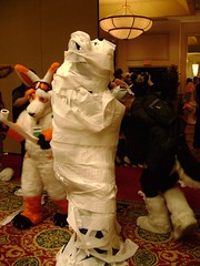 TPed fursuiter