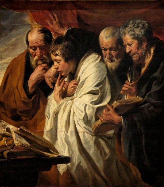 Jordaens, The Four Evangelists