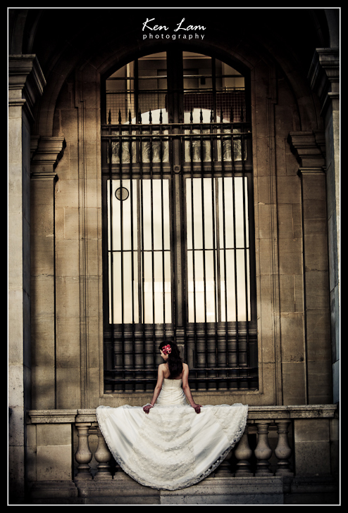 Karine & Eric- Pre-wedding in Paris