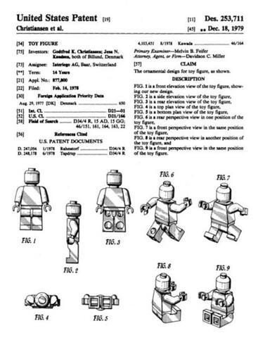 Lego Patent D253711