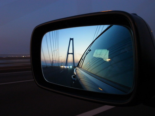 Side Mirror Shot on HighWay 1
