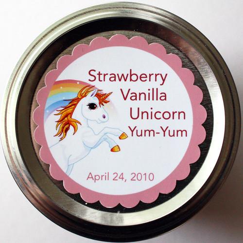 Strawberry Vanilla Unicorn Yum-Yum
