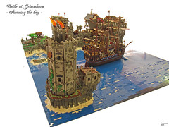Hinter dem Leuchtturm (THE BRICK TIME Team) Tags: brick lego pirate fleet siege nautic legocastle