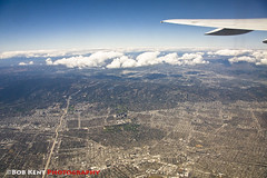 Clear Day in Los Angeles (Bob Kent) Tags: sky losangeles jet airplame clearskies clearair sotherncalifornia visibilityunrestricted