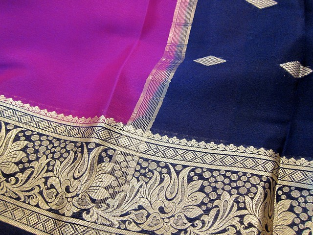 Beautiful Silk Sari