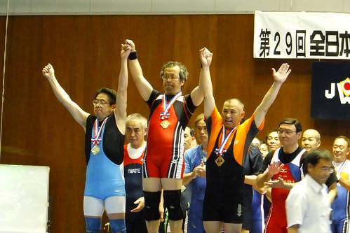 【2011 全日本マスターズ】 山田陽一選手、優勝おめでとうございます。