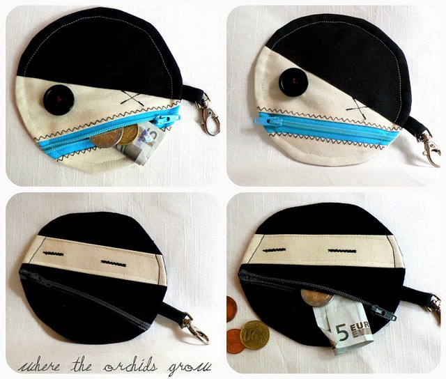 Pirate & Ninja Coin purse