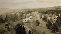A 1904 photograph of Shattuck Observatory and the campus (Dartmouth Flickr) Tags: campus dartmouth shattuck