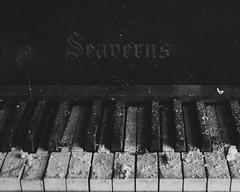 Filthy keys (Deborah Lillis) Tags: abandoned church decay piano explore urbanexploration derelict urbex