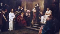 Christ before Pilate (detail) by M. Munkacsy 1881 055 (Andras Fulop) Tags: budapest hungary monarchy műcsarnok exhibiton museum painting nikon p7700