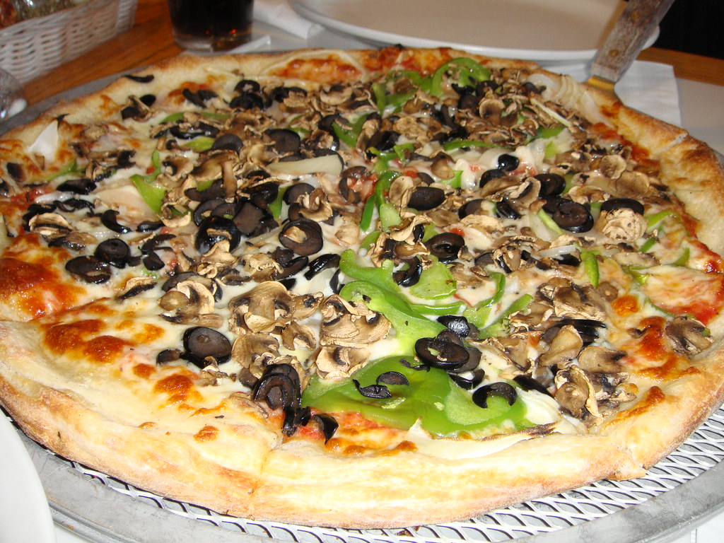 Neopolitan Vegetarian Pizza