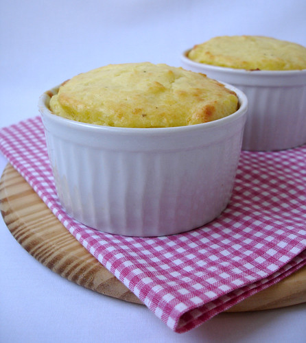 Potato soufflés / Suflê de batata