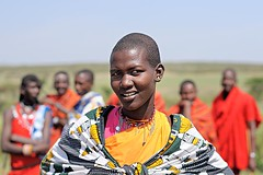 Masai Woman (Jayanand) Tags: people colour nikon women kenya mara warrior masai nikond300 nikkoraf50mmf14