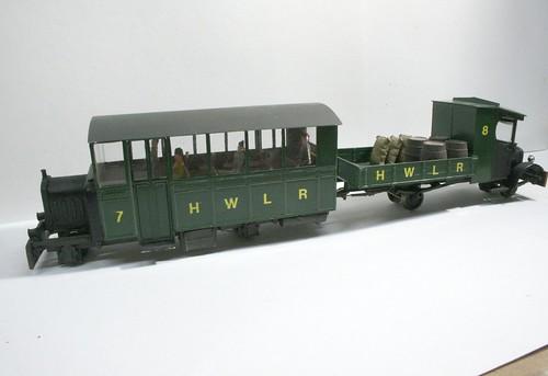 Cranbrook railcar set