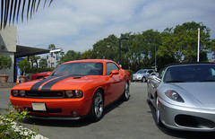 2009 Dodge Challenger R/T (lucre101) Tags: california classic car los angeles muscle retro hills dodge beverly hem