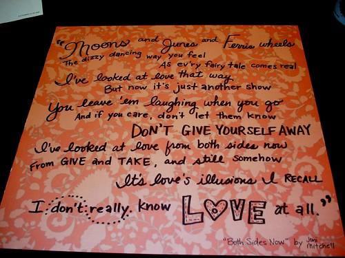 Joni Mitchell Lyrics