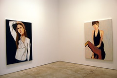 Chantal Joffe [Installation view] (16 Miles of String) Tags: nyc newyork art women chelsea paintings exhibition read 2009 chantal joffe cheimread cheim chantaljoffe cheimandread artcat9477