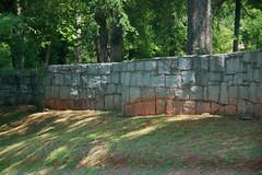 Blue Granite Wall