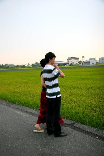 小情侶的背影 by you.