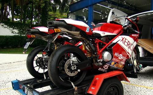 Ducati 999r Fila. Ducati 999R Xerox (x2)
