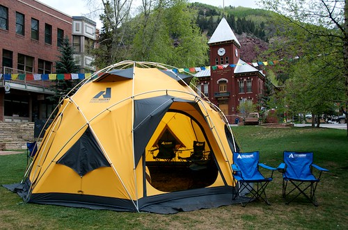 Elks Park: First Ascent Tent