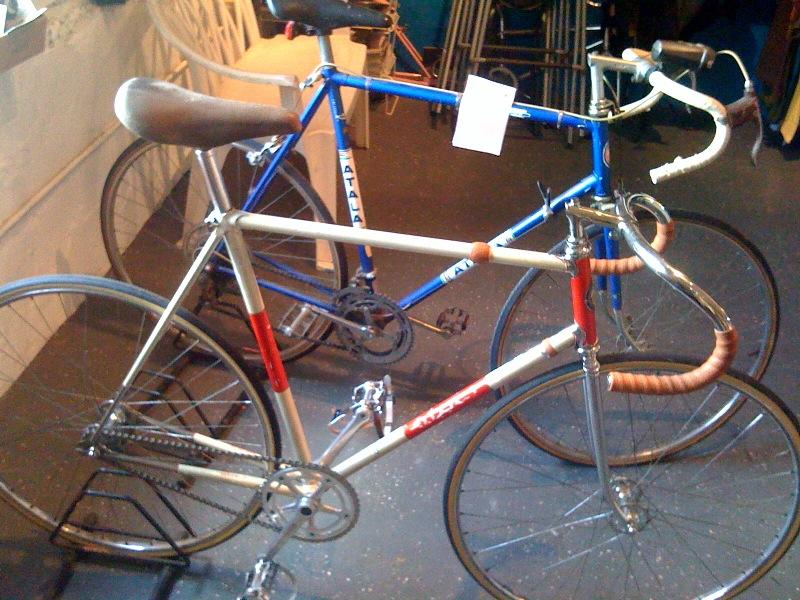 Back when a track bike was a track bike