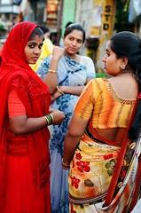 Mumbai Red Light (symphorose) Tags: india women mumbai prostitutes saris