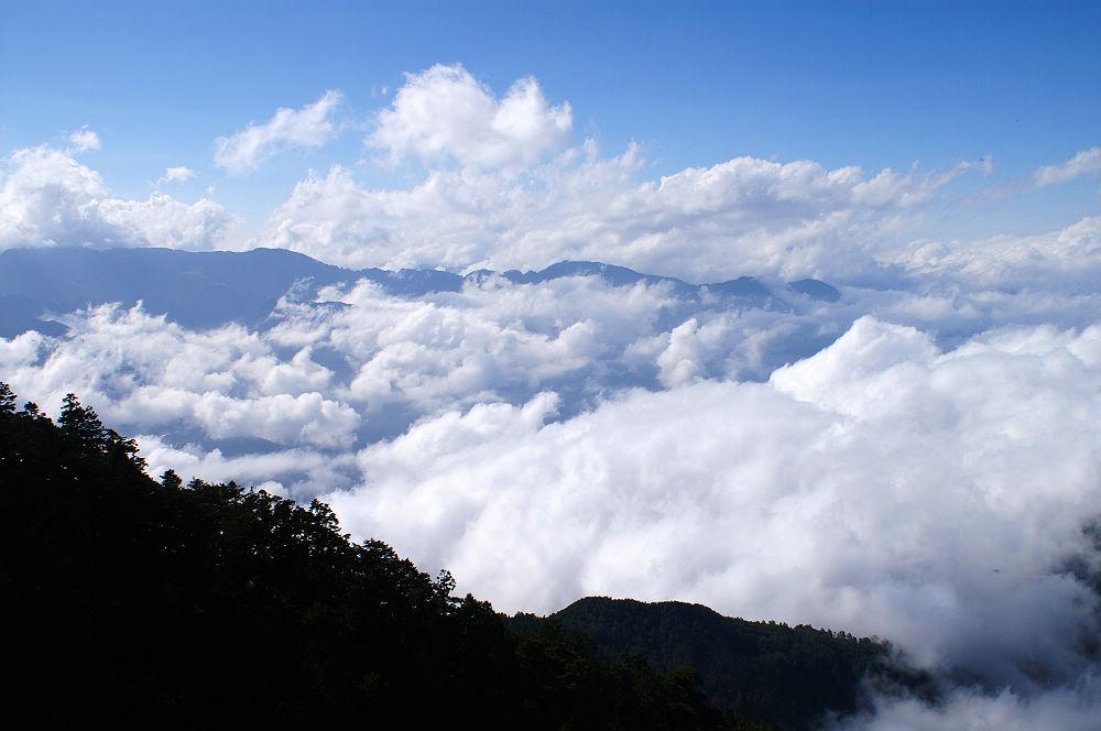 南湖大山day2-86 蘭陽溪谷中雲海