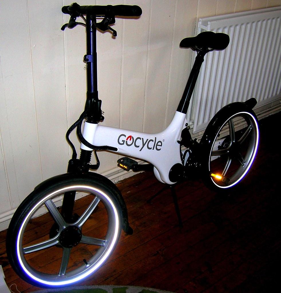 The wonderful GoCycle electric bike