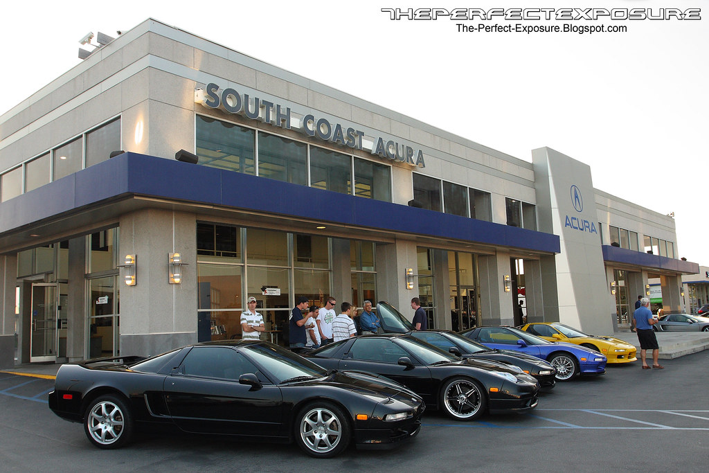 South Coast Acura >> The Perfect Exposure Acura Nsx Monthly Meet At South Coast Acura