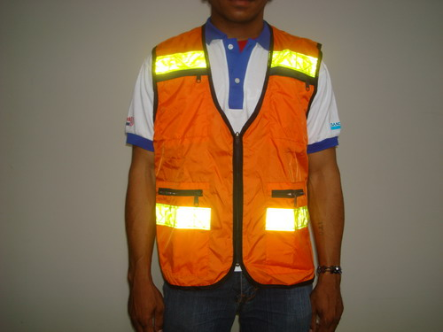 Safety Vest for Mining Worker