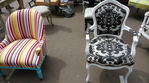 Awesome reupholstered antique chairs - The Divine Chair Company