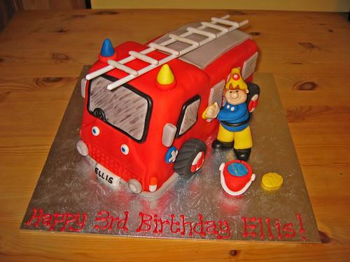 Remarkable Fireman Sam Beautiful Birthday Cakes Funny Birthday Cards Online Elaedamsfinfo