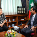 Courtesy call by Chinese Ambassador, Ms Yang Xiuping on President Nasheed