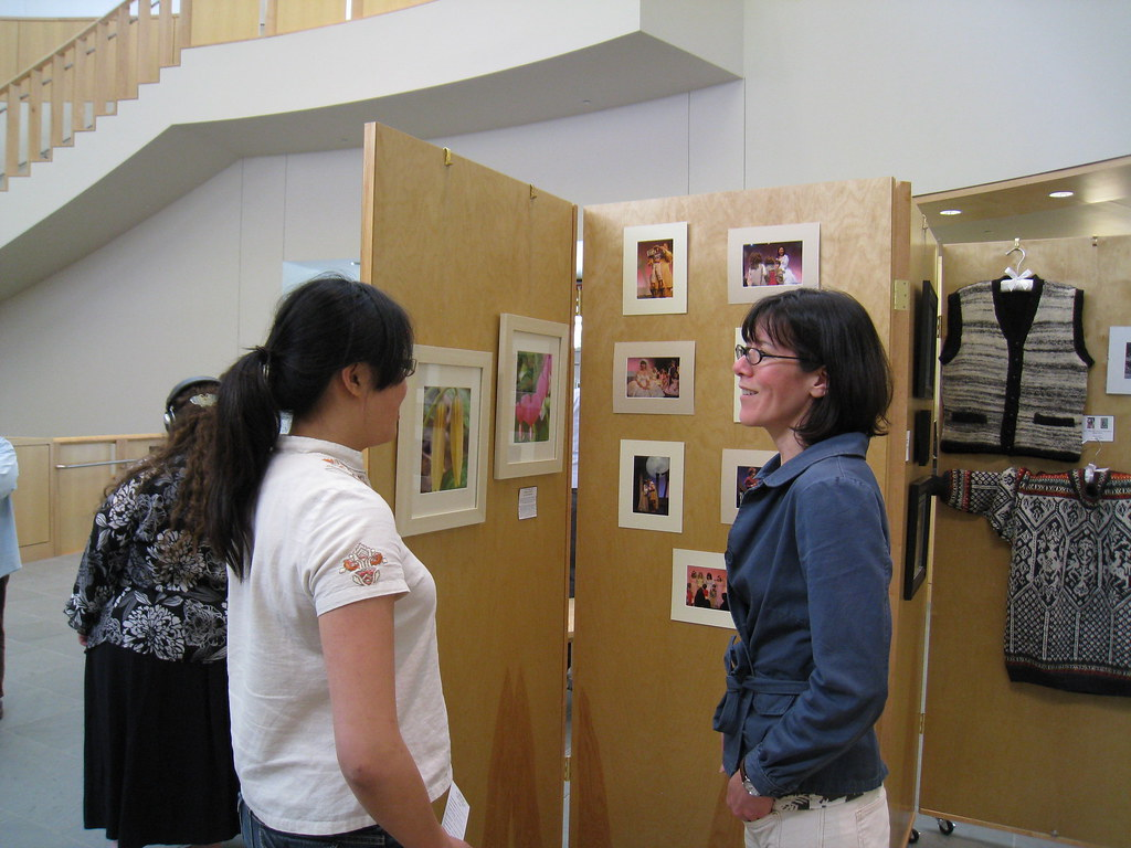 LIS Staff Art Exhibit 051