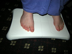 13/06/09 - Wii Fit Feet
