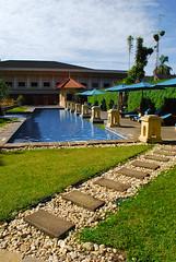Hotel poolside (ihsankhairir) Tags: travel tourism pool sumatra indonesia hotel swimmingpool slideshow bukittinggi minang minangkabau westsumatra
