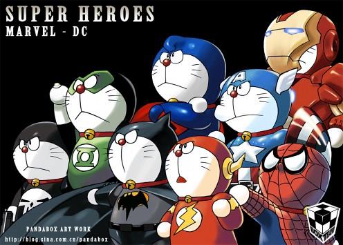 gato cósmico Doraemon Marvel