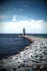 The Lighthouse (Bowman!) Tags: lighthouse lake oklahoma water delete10 delete9 landscape delete5 delete2 delete6 delete7 delete8 delete3 delete delete4 camerabag lakehefner iphone