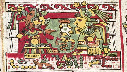 chocolate azteca codex Zouche-Nuttal