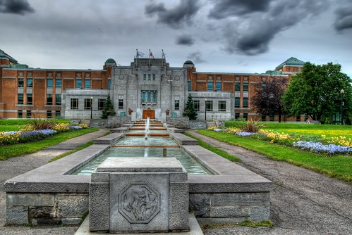 Botanical Garden in Montreal (HDR)