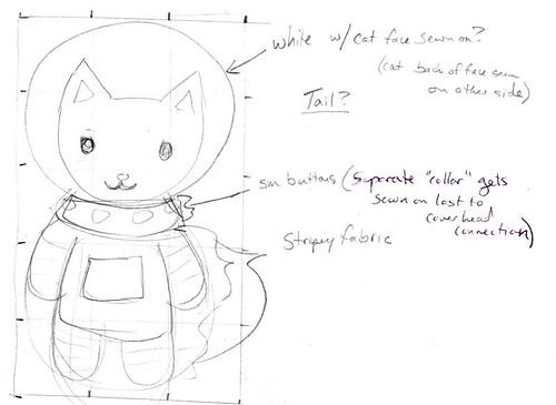 SpaceCat Sketch