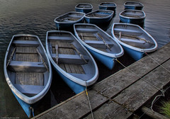 Blue Boats (WilliamBullimore) Tags: water japan boats kyoto arashiyama osaka hdr supershot osakafu platinumheartaward awardedbipg