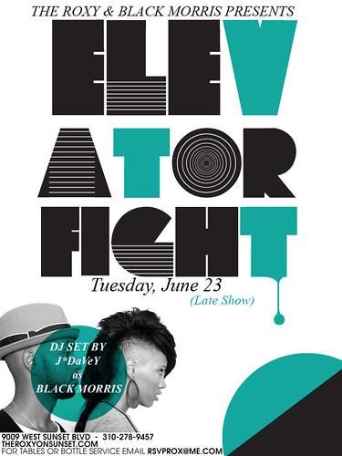 Elevator Fight June 23, 2009