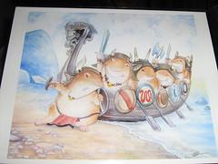 Beware the Hamsters of War. (kikayume) Tags: hamsters ursulavernon