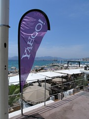 Yahoo's beach club