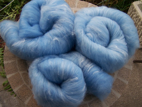 Tour de Fleece spinning!